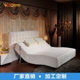 厂家直销智能家居高档针织电动床 独立筒弹簧遥控升降电动床垫