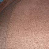 厂价批发供应咖啡色300克每平方单单毛全棉梭织毛巾布