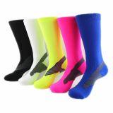 袜子定做男女可穿中筒毛巾底足球袜 防滑吸汗run socks