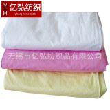 80S 全棉贡缎珠光粉印花涂胶防羽防绒布自充绒羽绒被立衬被壳