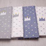 供应 皇冠床上用品布料 卡通纯棉斜纹面料全棉布料 1.6米宽