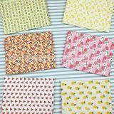 全棉斜纹印花布料儿童床品面料北欧宜家风DIY布料批发水果
