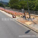 厂家直销出口海外塑胶护栏 交通铁马 道路隔离栏 施工围挡