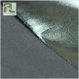 12安黑色全棉帆布环保PVC涂层布亮面布料防水箱包布面料定制