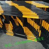 喷塑铁马护栏 隔离栏 镀锌道路活动铁马 白色铁马