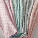 针织纯棉花纱双层提花面料,婴儿面料