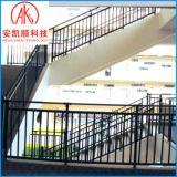组装式免焊接楼梯扶手 锌钢烤漆室内楼梯扶手 楼梯钢扶手定制