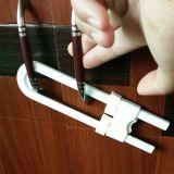 宝宝U形锁安全对开门柜锁 儿童安全用品