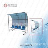 JHKN-4048足球裁判防护棚阳光板耐力板四六座球员休息棚