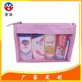 深圳龙岗手袋厂mesh bag高档化妆日用品旅行收纳包纱网袋