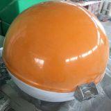 厂家直销 玻璃钢航空障碍球 FRP航空警示球 高压线警示球