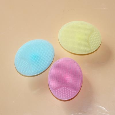 宝宝沐浴清洁刷 去角质按摩洁面刷 婴儿硅胶洗头刷