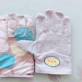 双层劳保白甲帆布24线手套加厚全里衬防滑耐磨电焊