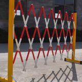绝缘伸缩围栏(管式) 加长型绝缘伸缩围栏 第三代绝缘伸缩围