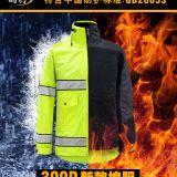 2018新款夹克警察反光棉雨衣