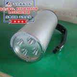 LED光源可充电锂电池的手提式探照灯