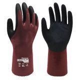 多给力WG-728L防重油防切割耐磨作业手套