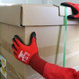 多给力WG-310通用乳胶磨砂作业手套强防滑抓握力好舒适灵巧