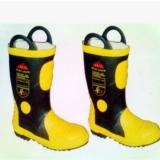 厂家直销 02款消防靴 消防员专用灭火 战斗 防护靴 底部带钢板