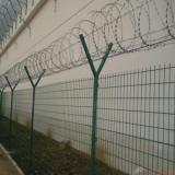 看守所护栏网刀片刺绳 监狱钢丝围墙网 防爬军事基地围墙厂家直供