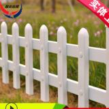 济南PVC塑钢护栏围栏栅栏草坪庭院花园围栏塑料围墙园林绿化栏杆