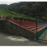 杭州凌力海护栏网 勾花网运动护栏 体育围栏网 学校体育场护栏
