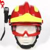 F2抢险救援头盔消防员防护救援头盔ABS安全头盔头灯防雾护目眼镜