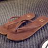 夏季新款凉拖鞋人字拖男鞋韩版时尚潮鞋一件代发工厂直销