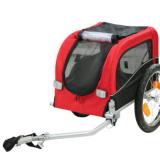 小号宠物拖车 出口欧洲美洲自行车拖车宠物专用