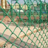 【勾花网】批发供应足球场围网 球场PVC勾花网 包塑绿色勾花网