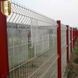 浸塑护栏网厂家 金属铁丝护栏网围栏网 铁丝网围墙可定制