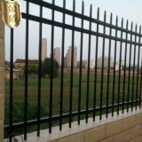 【围墙栅栏】热镀锌铁艺护栏围栏 黑色喷涂小区围墙栏杆厂家