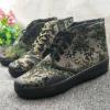 3517野战基地高帮作训鞋耐磨丛林迷彩解放鞋男工作鞋厂家直销
