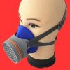 南核NH-219硅胶防毒面罩呼吸防护口罩临沂劳保批发南核防毒面具
