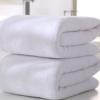 厂家直批发酒店纯棉毛巾纯白色大毛巾70*140加大加厚吸水酒店浴巾