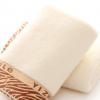 厂家定制纯棉无捻欢乐毛巾活动礼品广告定制LOGO图案面巾福利毛巾