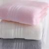 九木纺织纯棉人字纹浴巾 素色加厚吸水高档礼品浴巾超市专供浴巾