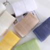 纯棉加密纹小方巾柔软加厚吸水方巾素色32股宽锻家用小方巾批发