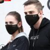 新款潮牌男女冬季防雾霾防尘保暖PM2.5口罩立体个性纯棉黑色口罩