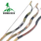 户外景区弓传统反曲弓成人娱乐弓羊皮弓玻纤片弓箭器材