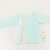 9纱布夹棉上衣裤拼色印花套装母婴用品纯棉长袖睡衣儿童空调衣服