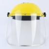 焊奇头戴式黄顶pc防飞溅面屏 工厂焊接透明防护面屏 安全防护面罩