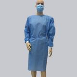 独立包装一次性手术 衣 无菌医用长袖蓝色无纺布手术服防水隔菌