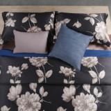 木帛纺织外贸长绒棉livinghouse100支四件套全棉床上用品定制定做