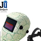 厂家专业生产批发头戴式贴花款自动变光电焊面罩焊工焊帽电焊防护