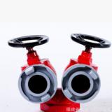 厂家直销 消防器材批发 天兴双阀双出口栓SNSS65