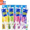青蛙王子儿童牙膏3-6-12岁水晶水果味防蛀换牙期宝宝儿童牙膏批发