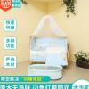 多功能实木无漆婴儿宝宝床 实木儿童床 欧式婴儿床五件套