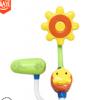 小鸭花洒儿童洗澡戏水玩具手动按压吸盘固定澡盆浴缸玩具