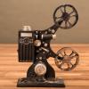 复古播放机放映机投影仪模型做旧风格软装橱窗摄影道具 家居装饰